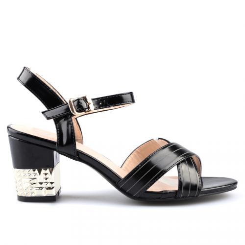 ecd7b52add8 Промоция на дамски елегантни сандали черни 0124370 (Tendenz) Tendenz ...