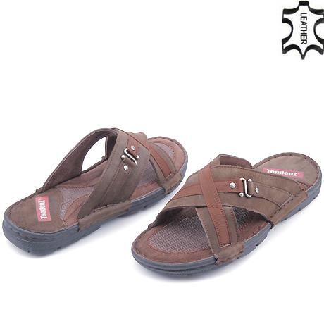 ecdbe42d362 Промоция на Мъжки сандали и чехли 0112514 (Tendenz) Tendenz ...
